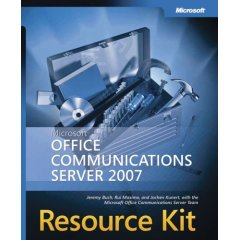 OCS 2007 Resource Kit Book